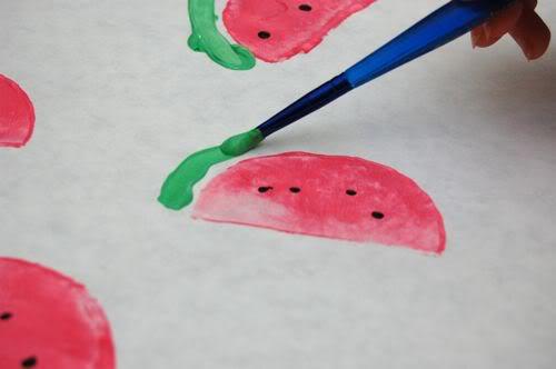 white paper watermelon 2