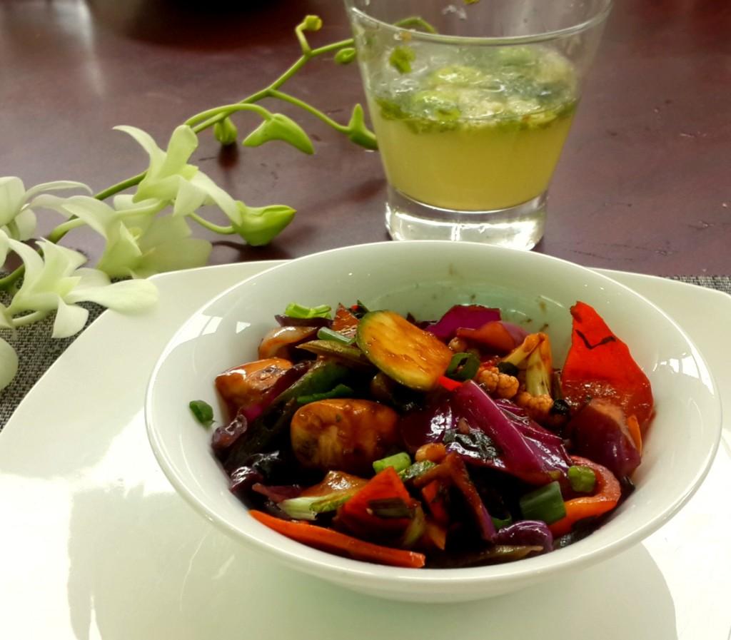 Mongolian Stir Fry