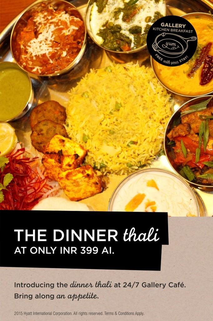 Dinner Thali at Hyatt Place Hinjewadi (1)