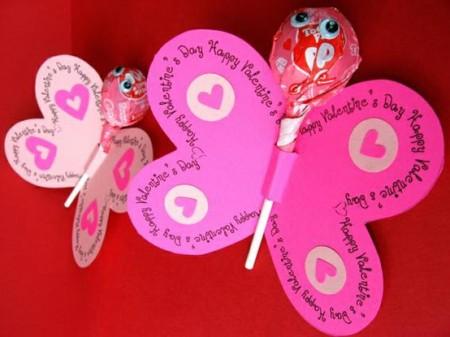Simple Diy Craft Lollipop Butterfly All Things Gud