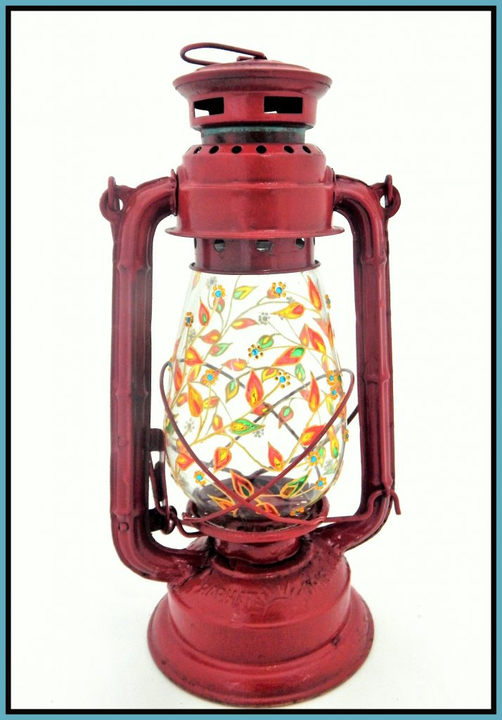 Glass Colour - Lantern 1