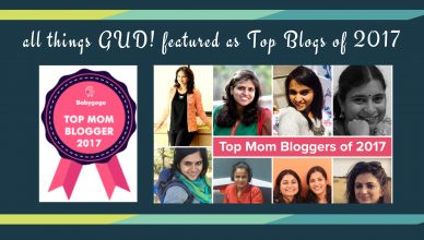 mommy blogger pune – all things GUD!