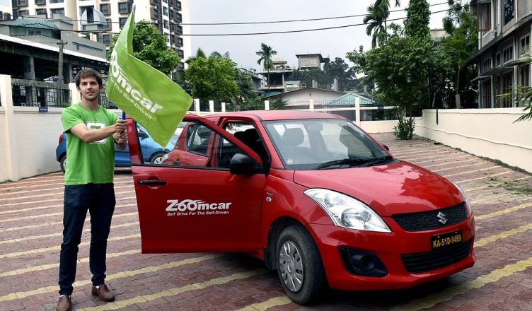 Greg-Moran-co-founder-and-CEO-Zoomcar-flagging-off-Zoomcar-services-in-Guwahati_1