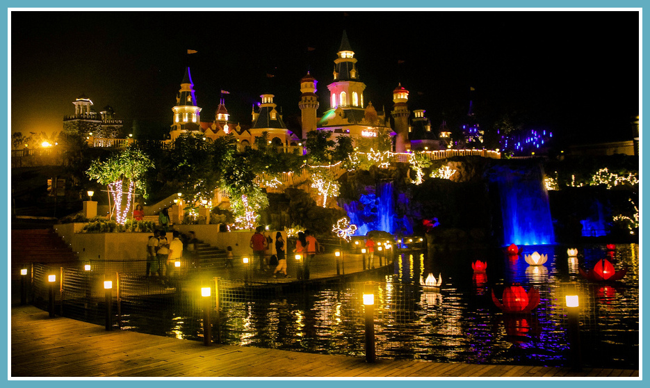 imagica-theme-park-night
