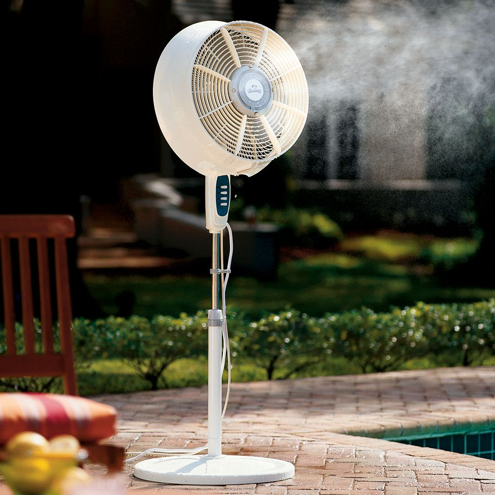 Misting Fans And Windchill Cool Mist