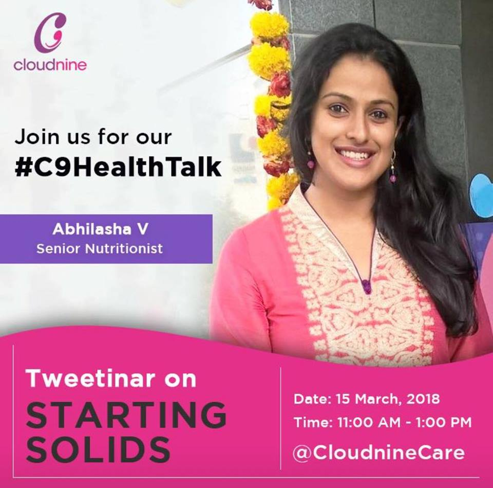 webinar on breast feeding by cloudnine hospital