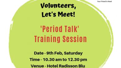 volunteer meet period talk humjoli foundation