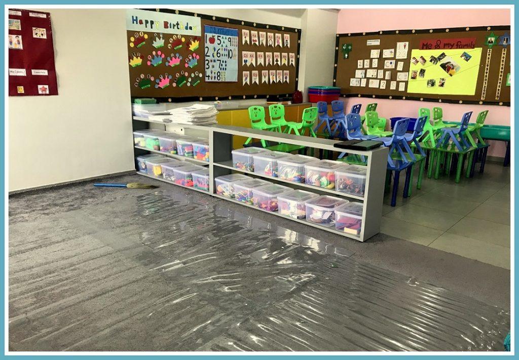 Pre primary classroom